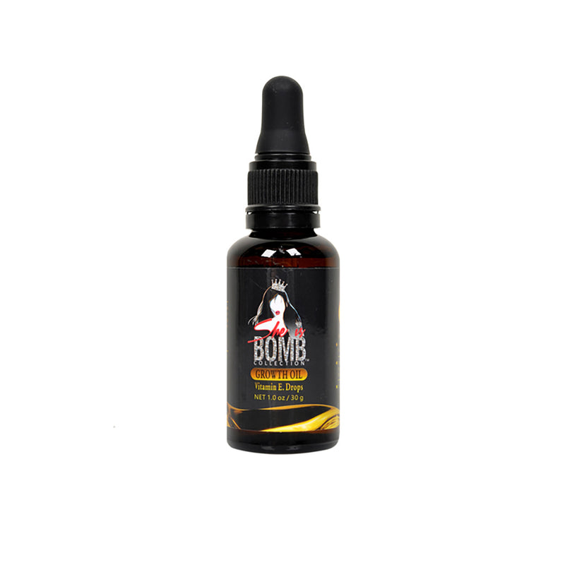 She Is Bomb Growth Oil Vitamin E Drops - Hair Crown Beauty Supply