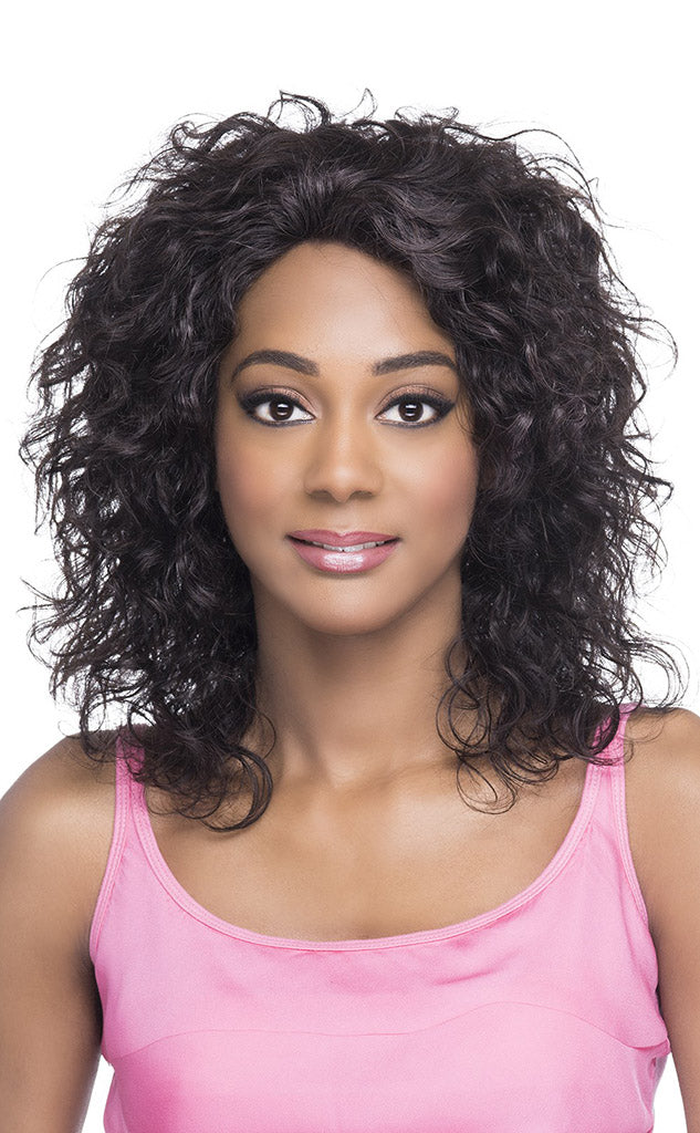 Vivica's Natural Brazilian Swiss Lace Front Wig SHIMMER - Hair Crown Beauty Supply