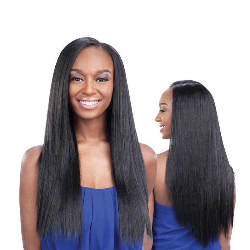 Que Mastermix Malaysian Silk Press Yaki - Hair Crown Beauty Supply