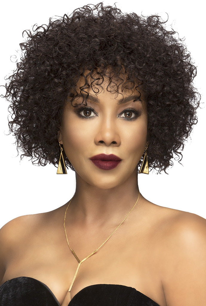 Vivica A Fox Natural Brazilian Pure Stretch Cap Wig SPRING - Hair Crown Beauty Supply
