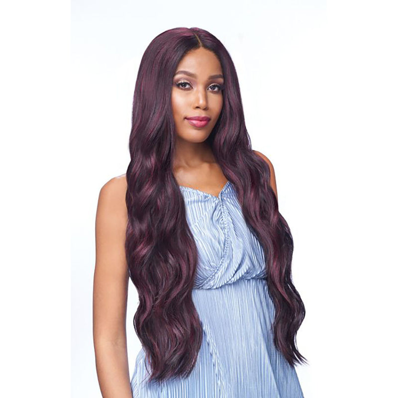 Vanessa Honey Human Hair Blend Lace Front Wig TDHB ILMA 40 | Hair Crown Beauty Supply