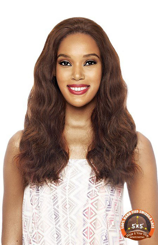 Vanessa Honey Brazilian Human Hair Deep Front Lace Wig TH5NC SOFEE | Hair Crown Beauty Supply
