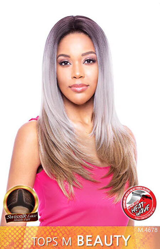 Vanessa Top Super Middle Lace Front Wig TOPS M BEAUTY - Hair Crown Beauty Supply