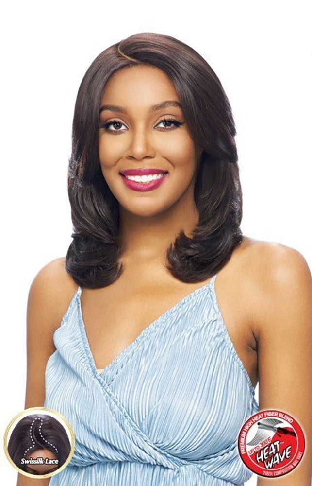 Vanessa Tops Middle C-Part Lace Front Wig ATIAN - Hair Crown Beauty Supply