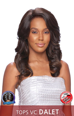 Vanessa Top Super V Line C Side Lace Front Wig TOPS VC DALET - Hair Crown Beauty Supply