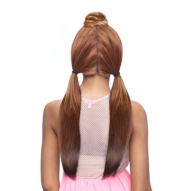 Vanessa Human Hair Blend Designer Lace Front Wig TYHB LEKA - Hair Crown Beauty Supply