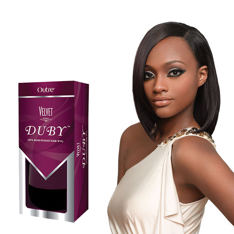 Outre Velvet Remi Duby 100 Human Hair Wvg 8 Hair Crown Beauty Supply