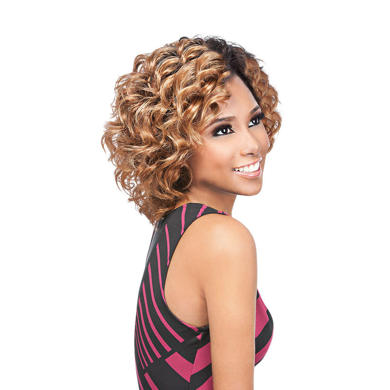 Outre Velvet Remi Short Series VINTAGE WAVE - Hair Crown Beauty Supply