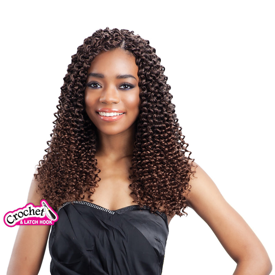 (6 Pack) FreeTress Water Wave Bulk 12 Inch - Hair Crown Beauty Supply