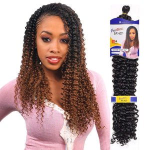 "(6 Pack) FreeTress Braid Water Wave 22"" - Hair Crown Beauty Supply"