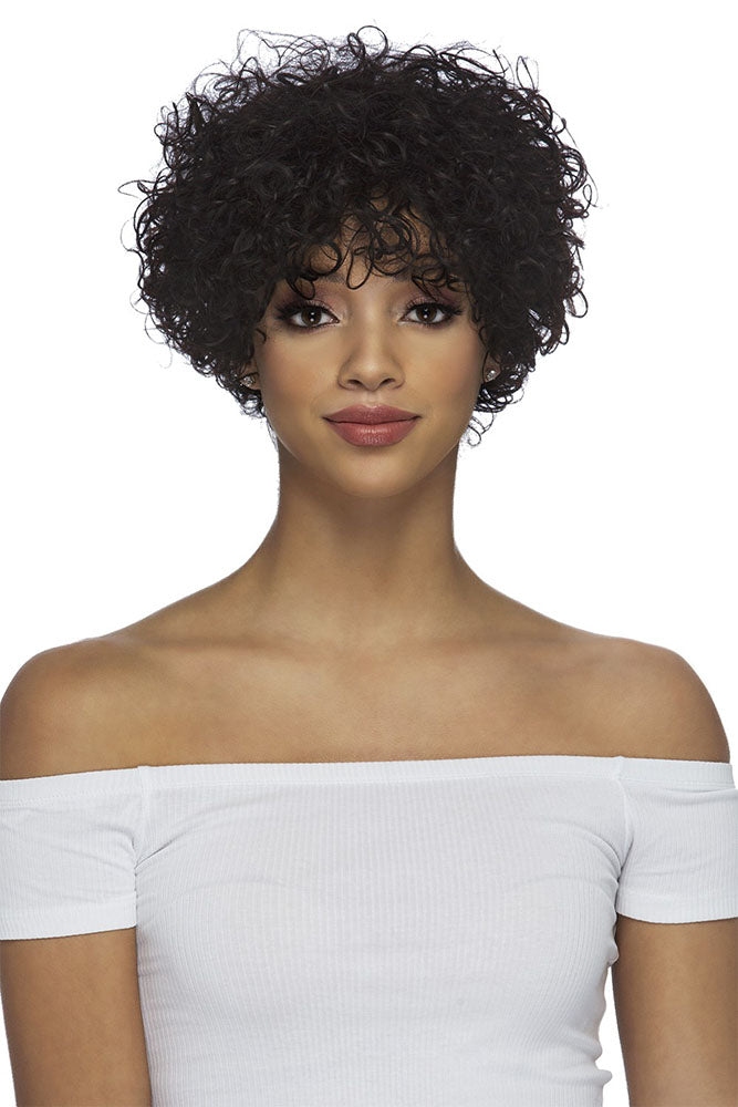 Vivica A Fox Natural Brazilian Pure Stretch Cap Wig WIKI | Hair Crown Beauty Supply