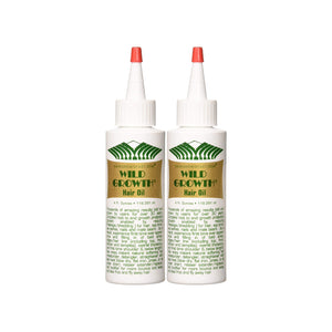 (2 Pack) Wild Growth Hair Oil - Hair Crown Beauty Supply