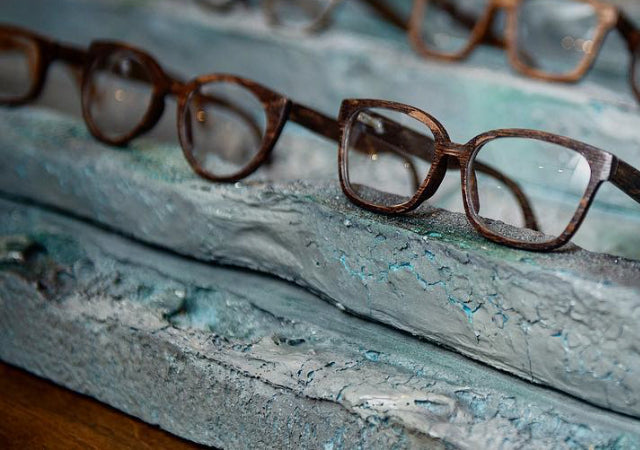 08290cfb01 Loch  Wooden Eyewear from 500 Year-Old Timbers