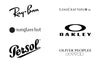 Ray-ban, oakley, persol, lens crafters, sunglass hut, oliver peoples are all made by Luxottica