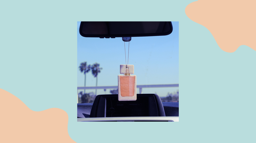 Boyfriend Car Freshener Launch