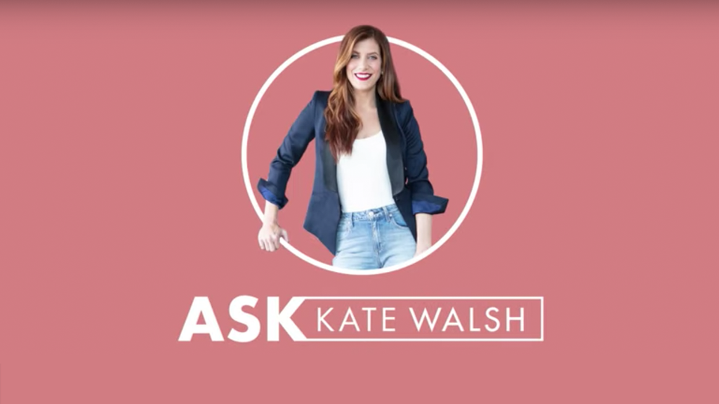 Boyfriend Perfume Q&A with Kate Walsh
