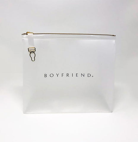 Boyfriend Cosmetic Bag by Kate Walsh