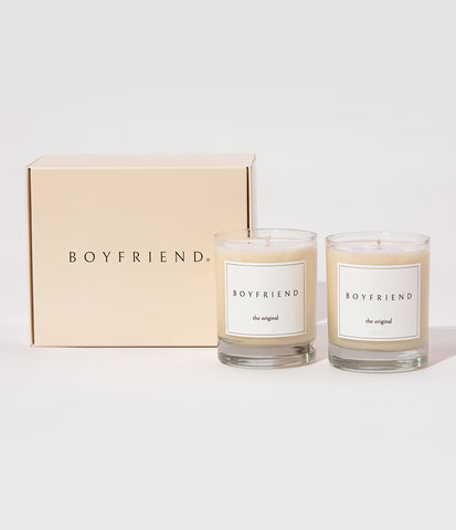 Boyfriend Candle Gift Set