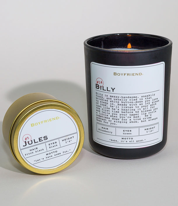 Boyfriend Candle Duo