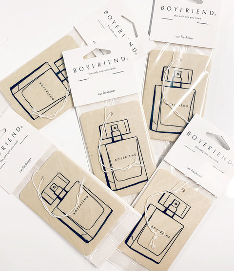 Boyfriend Car Freshener 5-Pack
