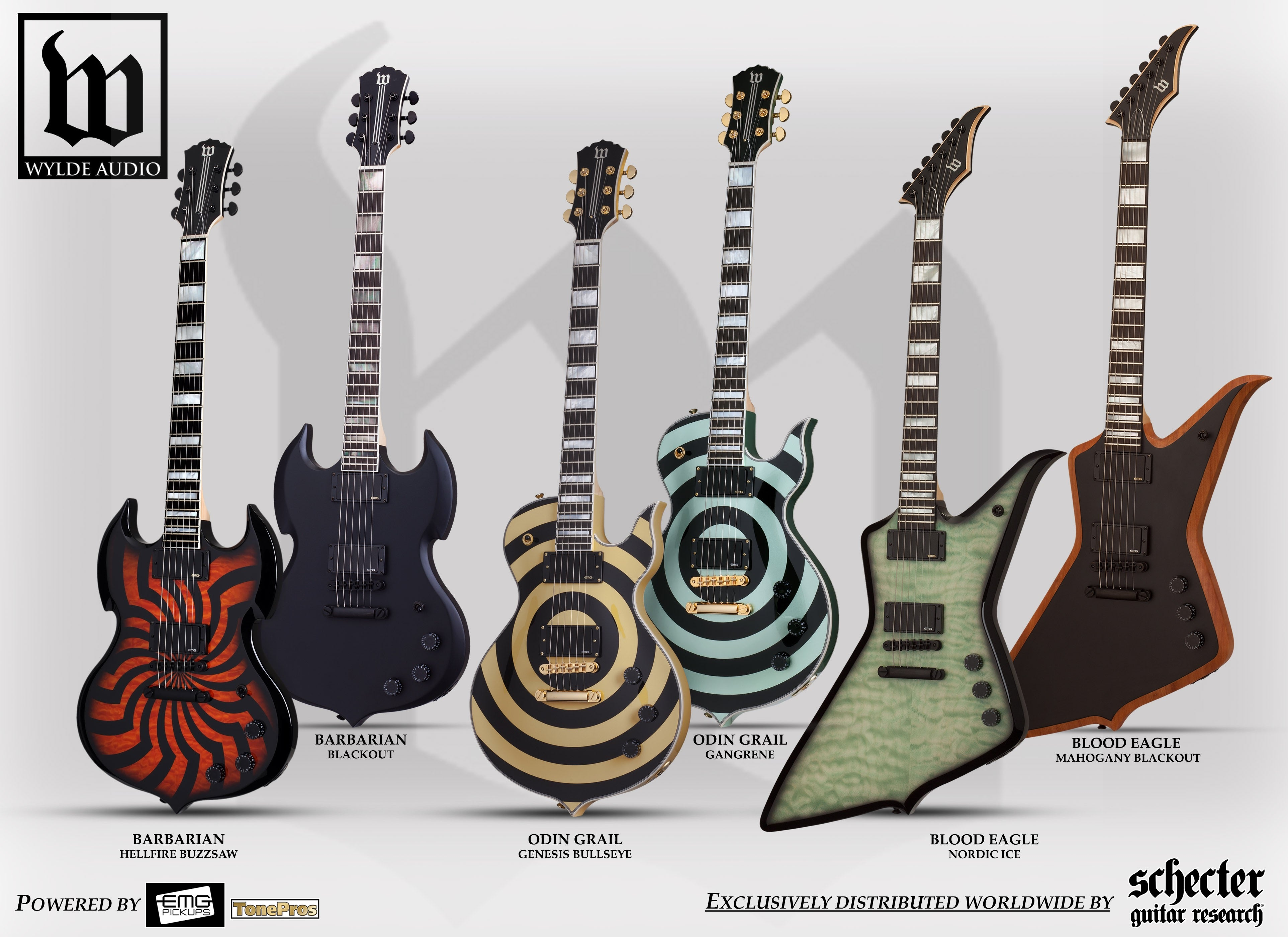 wylde audio zakk wylde signature guitars wylde audio
