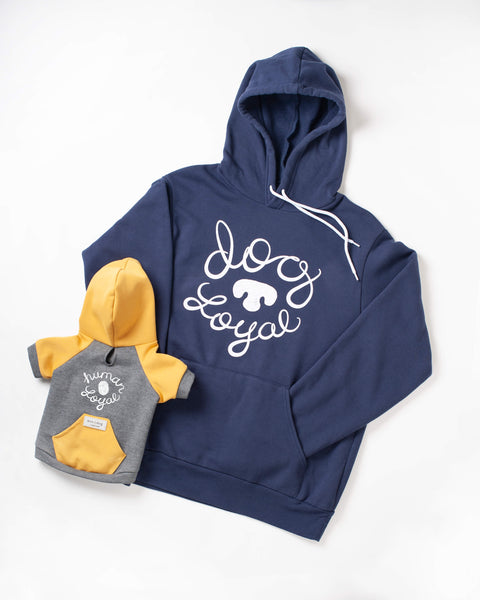 Matching Set: Dog Loyal & Human Loyal Hoodies