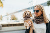 Matching Sets:  Fashion: Neck Scarf & Dog Neck Scarf - Chanel