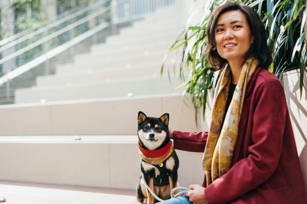 Matching Sets: Infinity scarf & Dog Neck Scarf - Camo