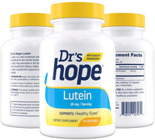 Lutein – Supports Eye Health – 60 Softgels