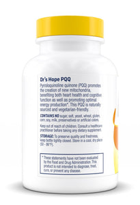 PQQ – Supports Energy and Cognitive Health – 30 Veggie Caps