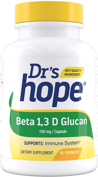 Beta 1,3 D Glucan – Supports Immune System Health – 60 Capsules