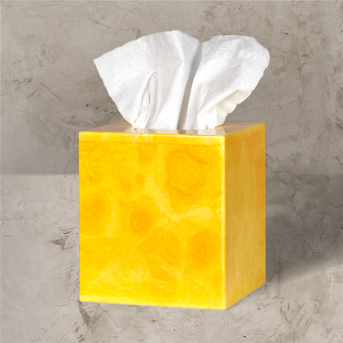 Sunflower Yellow Tissue Box
