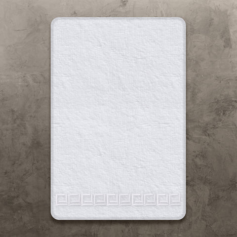 White CJ Hand Towel