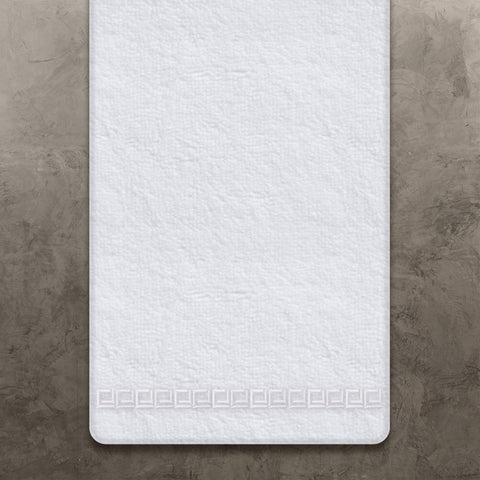 White CJ Bath Towel