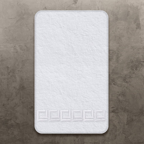 White CJ Guest Towel