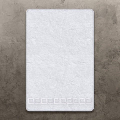 Ivory/Grey CJ Hand Towel