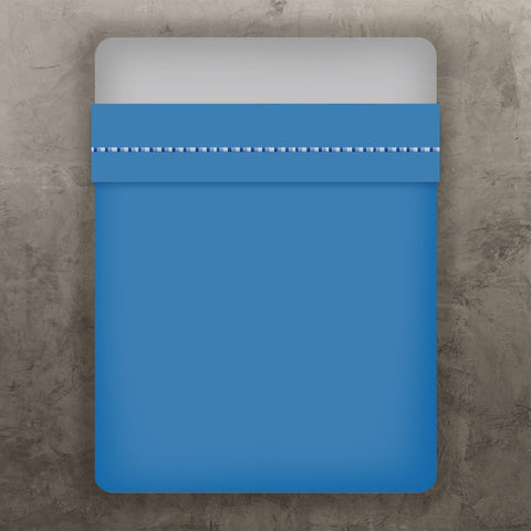 Blue Single Line Flat Sheet