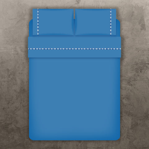 Blue Single Line Sheet Set
