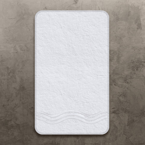 White Onde Guest Towel