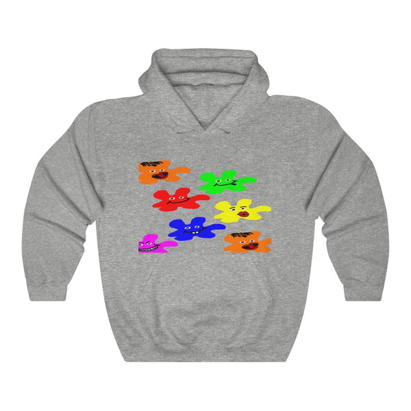 Weirdos Frontside and Backside Adult Hoodie