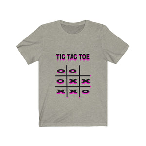 Tic Tac Toe Tee Adult Sizes