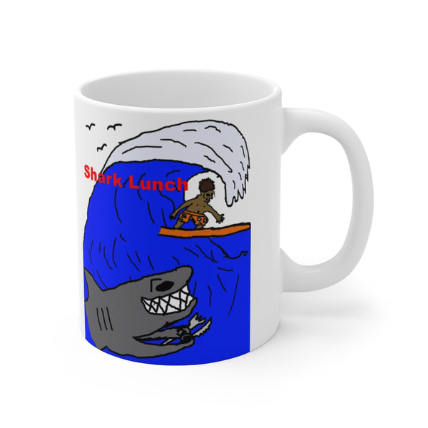 Shark Lunch Mug