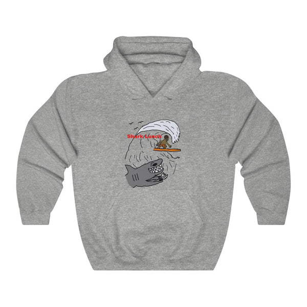 Shark Lunch Hoodie Adult Sizes
