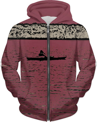 Kayak Kid Hoodie for Women