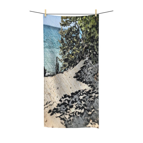 Lake Michigan Dune Bath Towel