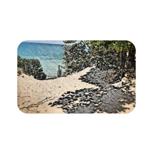 Lake Michigan Dune Bath Mat