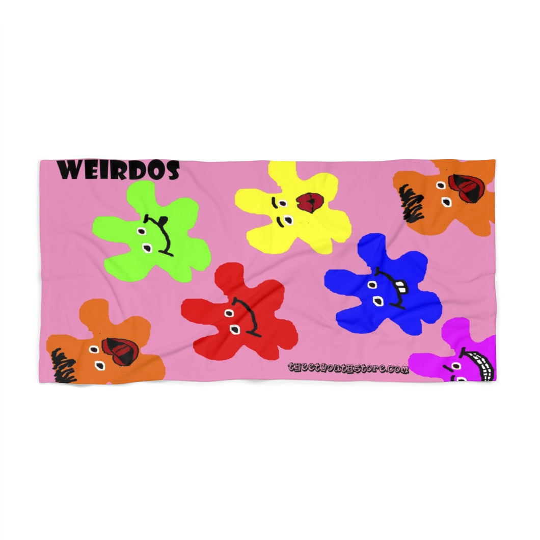 Weirdos Beach Towel