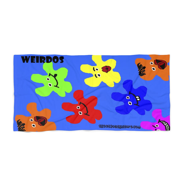 Weird Dudes Beach Towel