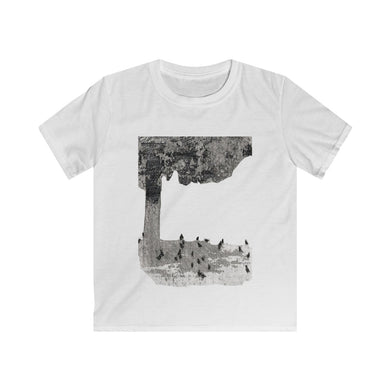 Blackbirds in Yard Child Sizes Tee