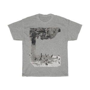 Blackbirds in Yard Adult Sizes Tee